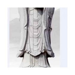 石雕雕刻地藏王菩萨像